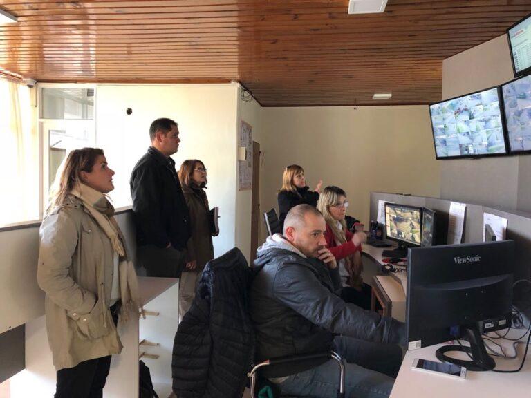 Ediles recorrieron centro de monitoreo municipal