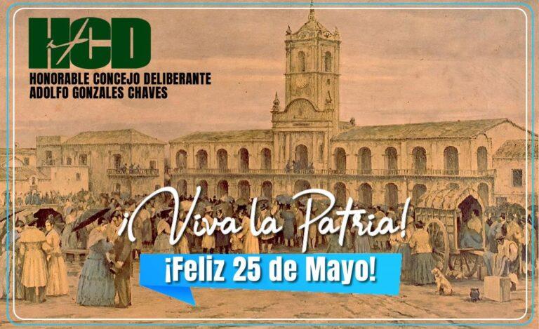 Salutación por el 25 de Mayo