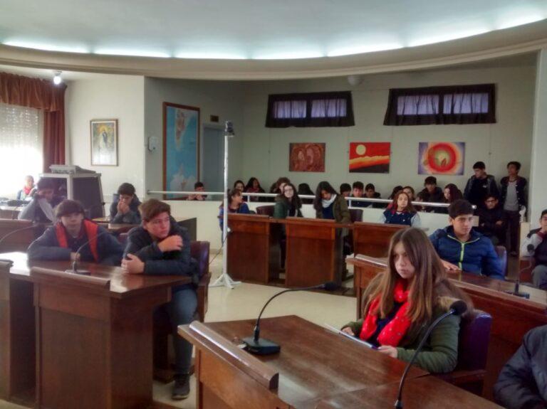 Alumnos del Instituto Juan Elicagaray visitaron el HCD