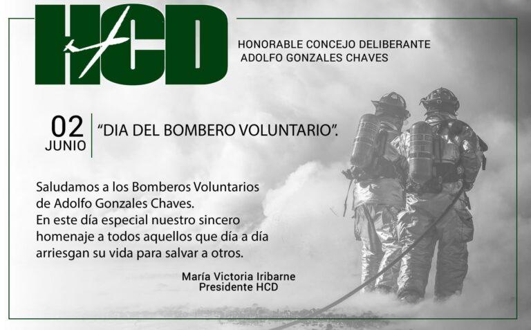 02 de junio: Día del Bombero Voluntario