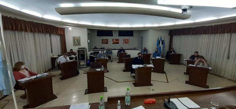 Sesión Inaugural del Honorable Concejo Deliberante