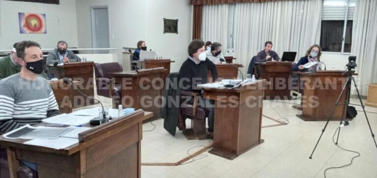 El Concejo Deliberante convoca a sesión ordinaria