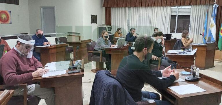 Extensa jornada en el Concejo Deliberante